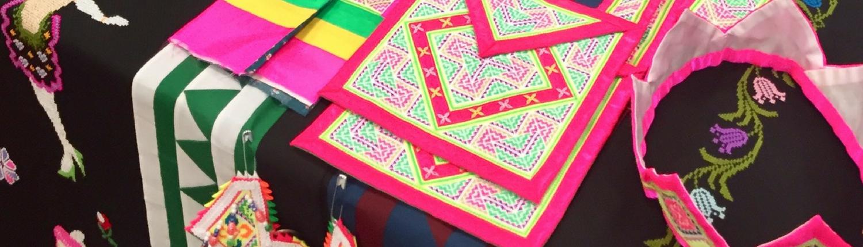 Paj Ntaub, Hmong Embroidery Photo One