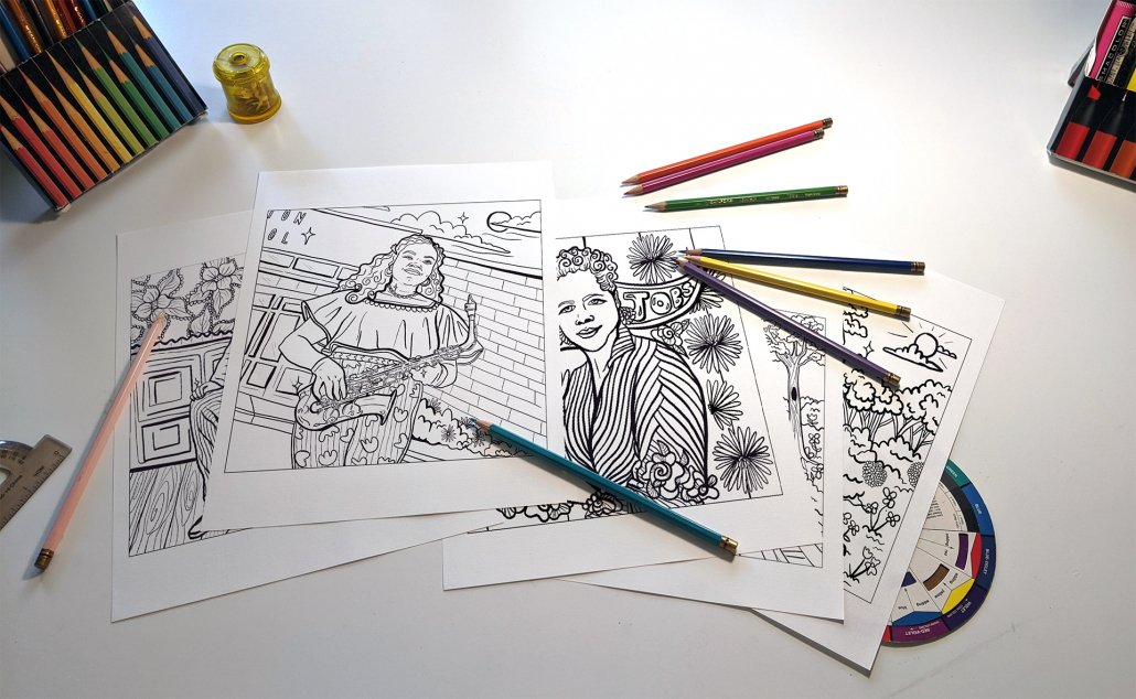 Coloring Book Pick-Up
