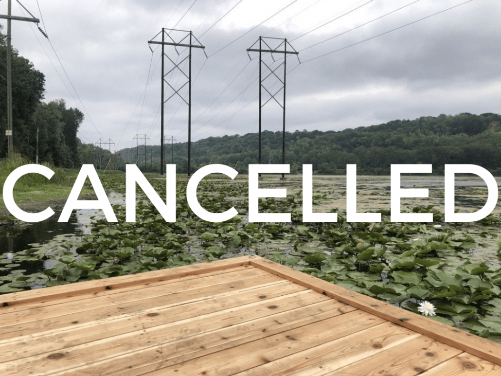 CANCELLED: UNVESSEL and LISTENING TO THE MISSISSIPPI